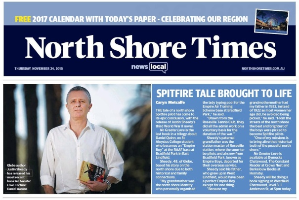 North Shore Times 24 Nov 2016