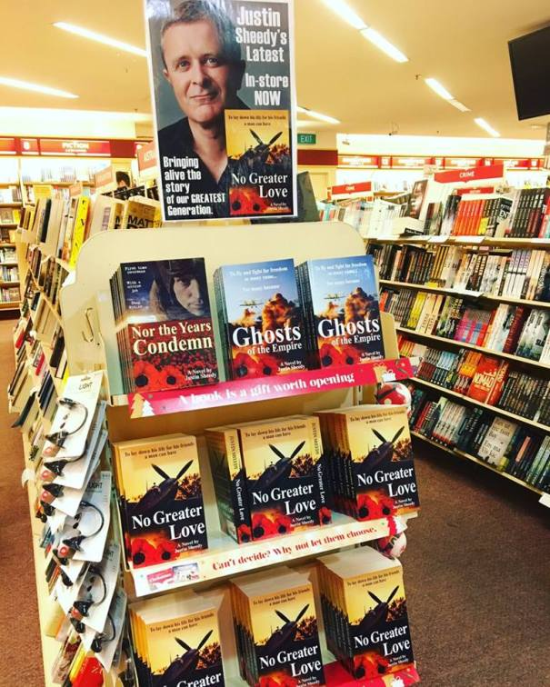 Justin Sheedy Dymocks Chatswood
