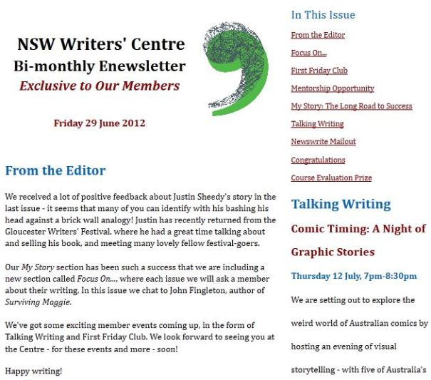 justin-sheedy-in-nsw-writers-centre-newsletter