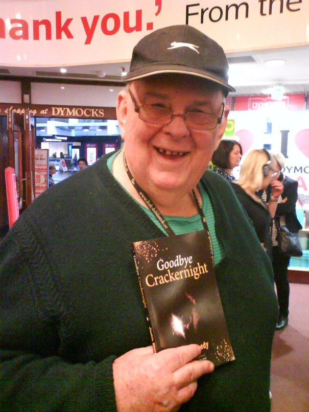 Les Murray at Justin Sheedy's Dymocks event