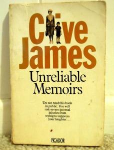 Unreliable Memoirs Clive James