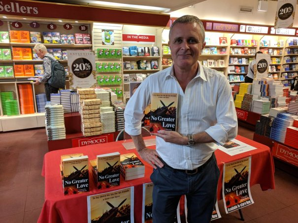 Justin Sheedy Dymocks Sydney 16 Nov 2017